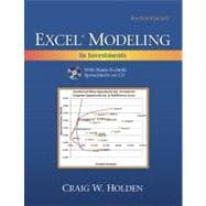 Excel Modeling and Estimation in Investments, 9780132497879