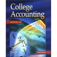 College Accounting Updated 10th Edition Chapters 1-13 w/ NT & PW