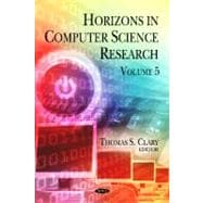Horizons in Computer Science Research,9781613247891