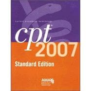 CPT 2007 Standard Edition: Current Procedural Terminology