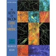 The Allyn and Bacon Guide to Writing: Brief Edition,9780205297924