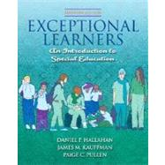 Exceptional Learners: Introduction to Special Education (with Cases for Reflection and Analysis and MyEducationLab)