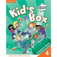 Kid's Box American English Level 4 Student's Book,9780521177948