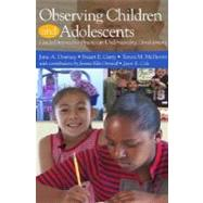 Observing Children and Adolescent - CD (Software)