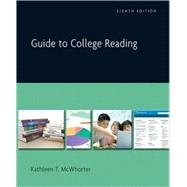 Guide to College Reading (with MyReadingLab Student Access Code Card)
