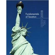 Fundamentals of Taxation 2008 edition w/TaxACT 2007