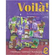 Voila!: An Introduction To French with CDROM and Cassette(s)