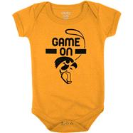 Iowa Hawkeyes Infant Gold Construction Site Creeper