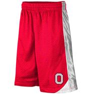 Ohio State Buckeyes Youth Red Vector Shorts