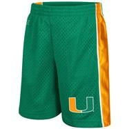 Miami Hurricanes Toddler Green Vector Shorts
