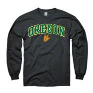 Oregon Ducks Youth Black Perennial II Long Sleeve T-Shirt