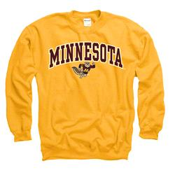 Minnesota Golden Gophers Youth Gold Perennial II Long Sleeve T-Shirt