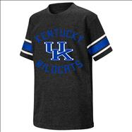 Kentucky Wildcats Black Youth Football T-Shirt