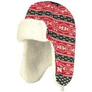 Nebraska Cornhuskers adidas Red Tropper Knit Hat