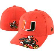 Miami Hurricanes New Era Jr. Melviz Classic Toddler Flex Hat