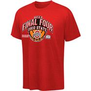 Ohio State Buckeyes Red 2012 NCAA Basketball Final Four Bound View Youth T-Shirt