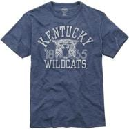 Kentucky Wildcats Grey '47 Brand Vintage Scrum Tee