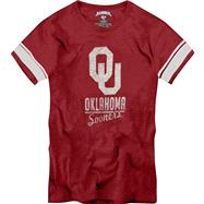 Oklahoma Sooners '47 Brand Women's Scrum Safety Tee
