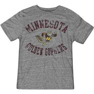 Minnesota Golden Gophers Grey Gym Class adidas Originals Tri-Blend Vintage Tee