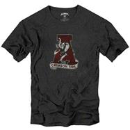 Alabama Crimson Tide Charcoal '47 Brand Vintage Mascot Scrum T-Shirt