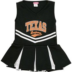 Texas Longhorns Toddler Girls Dazzle Cheer Dress