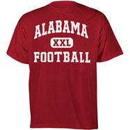 Alabama Crimson Tide Oxford Football T-Shirt