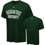 Michigan State Spartans Under Armour Essential Tech T-Shirt