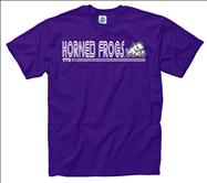 TCU Horned Frogs Black Retrospective T-Shirt