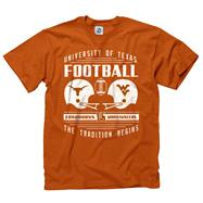 Texas Longhorns vs West Virginia Mountaineers Retro Clash T-Shirt