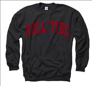 Alabama Crimson Tide Crimson Roll Tide Arch Crewneck Sweatshirt