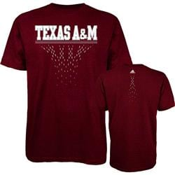 Texas A&M Aggies adidas Diamond Cut T-Shirt - Maroon