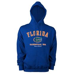 Florida Gators Hometown Made in America Hooded Sweatshirt - Royal