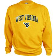 West Virginia Mountaineers Kids/Youth Perennial Crewneck Sweatshirt