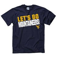 West Virginia Mountaineers Navy Slogan T-Shirt