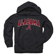 Alabama Crimson Tide Youth Black Perennial II Hooded Sweatshirt