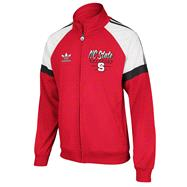 North Carolina State Wolfpack Red adidas Originals BTC Full-Zip Track Jacket