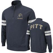Pittsburgh Panthers Navy Flex 1/4 Zip Fleece Sweatshirt