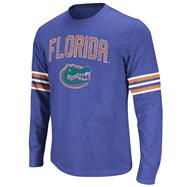 Florida Gators Royal Tackle Long Sleeve Slub Knit T-Shirt