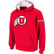 Utah Utes Cardinal Twill Pep Rally Hooded Sweatshirt