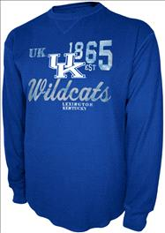 Kentucky Wildcats Charcoal Gamebreaker Long Sleeve Thermal
