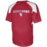 Oklahoma Sooners Cardinal Flea Flicker Performance T-Shirt