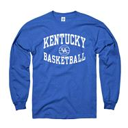 Kentucky Wildcats Royal Reversal Basketball Long Sleeve T-Shirt