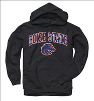 Boise State Broncos Black Perennial II Hooded Sweatshirt