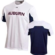 Auburn Tigers White Under Armour 2012 Football Sideline Contender T-Shirt