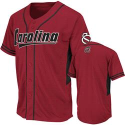 South Carolina Gamecocks Garnet Bullpen Baseball Jersey