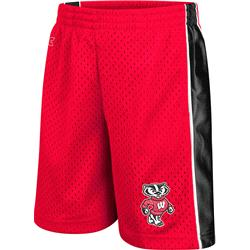 Wisconsin Badgers Red Toddler Vector Shorts