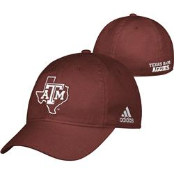 Texas A&M Aggies Maroon adidas 2013 Camp Slope Flex Hat