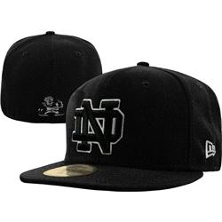 Notre Dame Fighting Irish New Era Graphite 59FIFTY Fitted Hat