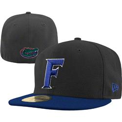 Florida Gators New Era Graphite/Royal 59FIFTY Fitted Hat