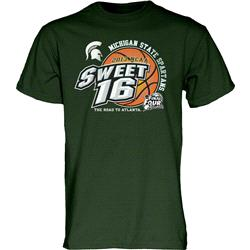 Michigan State Spartans NCAA Basketball 2013 Sweet Sixteen T-Shirt
